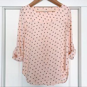 LOFT | Dress Tunic with Paisley Print